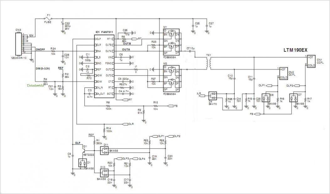 Schema Elettrico Inverter : Riparazione inverter notebook faidatepc