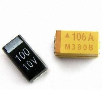 condensadores de tantalio